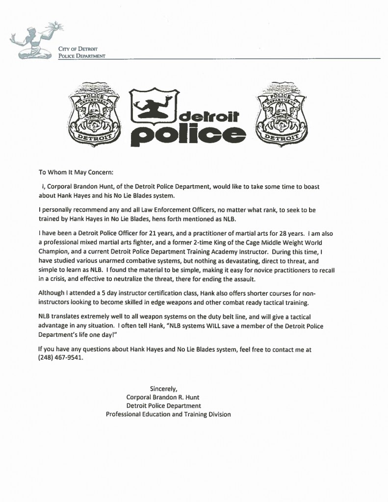 Detroit-Police-Department-Letter-for-NLB-Tactical