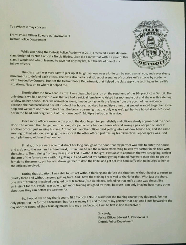 Detroit-PD-letter-of-life-saving-from-Ed-Pawlowski